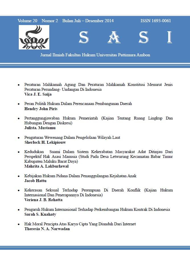 Volume 20 Nomor 2, Juli - Desember 2014