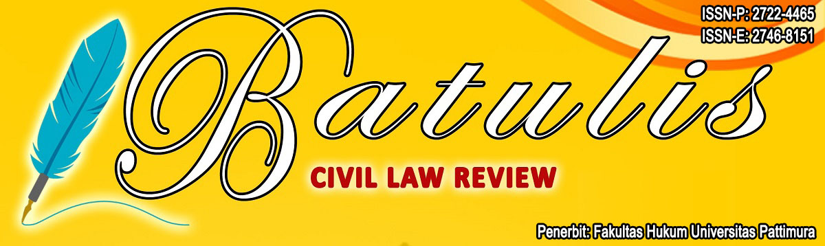 Batulis Civil Law Review